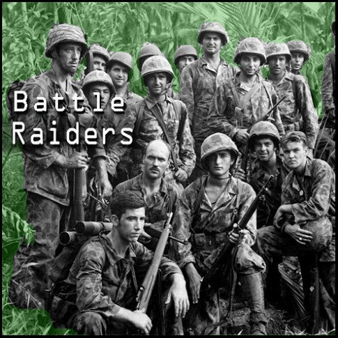 Jim Caron Battle Raiders